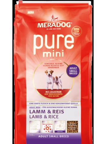 Meradog Mini Adult Kuzu Eti ve Pirinç 3kg
