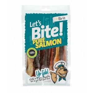 Brit Lets Bite Pure Salmon Köpek Ödülü 80 Gr